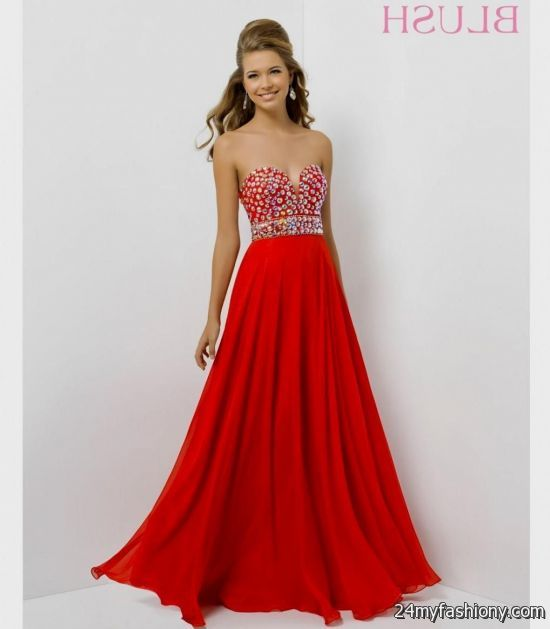 Short Red Prom Dresses 2018 Tumblr