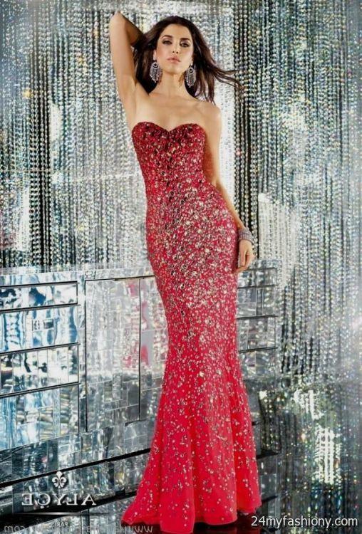 Red Sequin Mermaid Dress