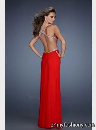 Prom Dresses with No Back