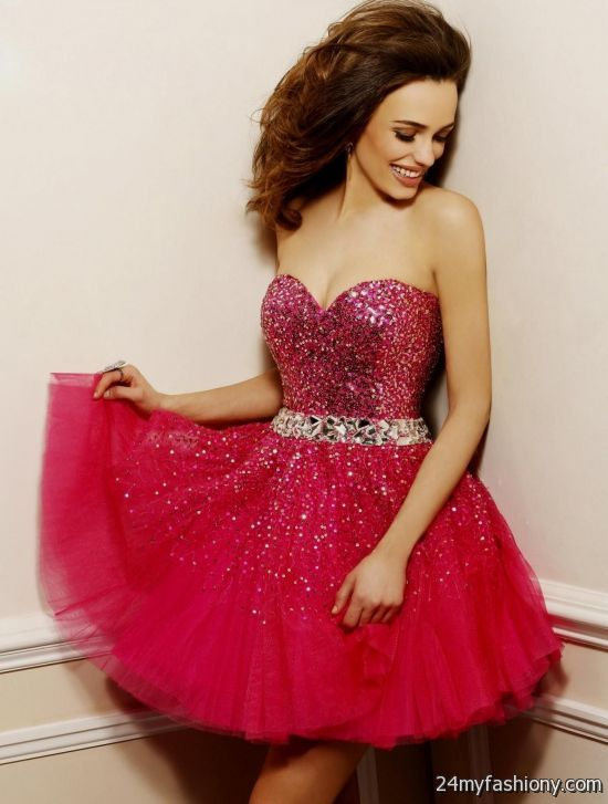 e07019557f You can share these red short tight prom dresses on Facebook