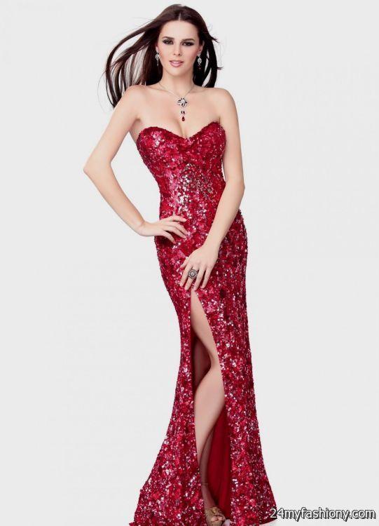 red sparkly prom dresses 20162017 b2b fashion
