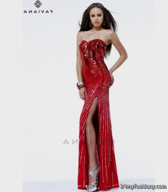 After 5 Dresses Red