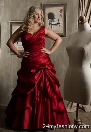 red wedding dresses plus size looks | B2B Fashion