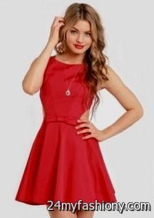 red winter formal dresses 2016-2017 » B2B Fashion
