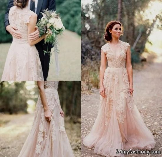You Can Share These Reem Acra Blush Lace Wedding Dress On Facebook Stumble Upon My E Linked In Google Plus Twitter And All Social Networking