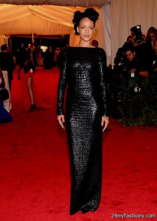 rihanna red carpet dresses looks   B2B Fashion