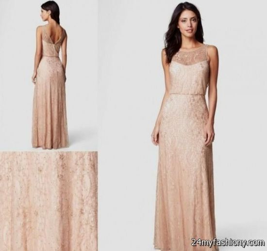 rose gold wedding dress 2016-2017 | B2B Fashion