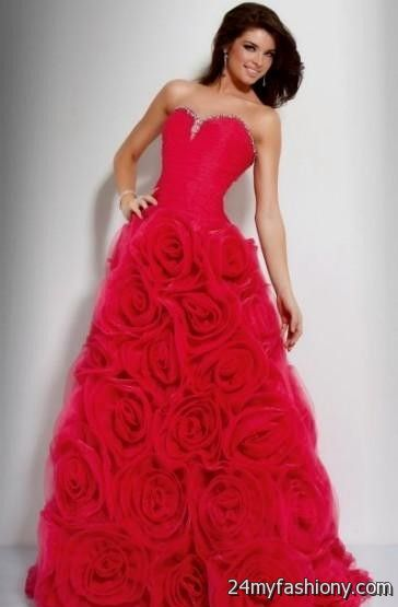 Roses Prom Dresses – fashion dresses