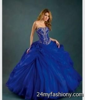 royal blue and gold 15 dresses 2016-2017   B2B Fashion