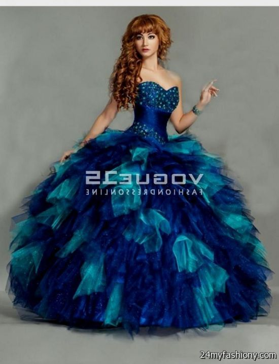 royal blue and gold 15 dresses 2016-2017 » B2B Fashion