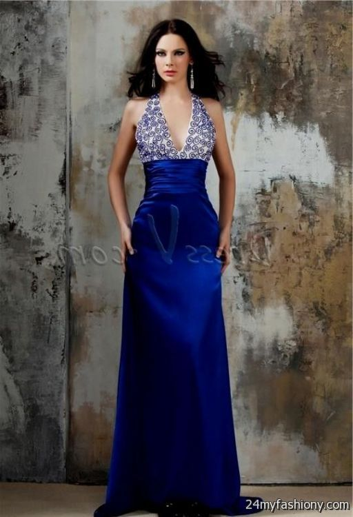 You Can Share These Royal Blue And Silver Bridesmaid Dresses On Facebook Stumble Upon My Space Linked In Google Plus Twitter All Social