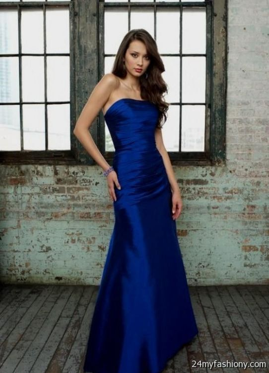 royal blue bridesmaid dresses 20162017 b2b fashion