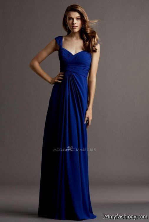 Bridesmaid Dresses Royal Blue 53