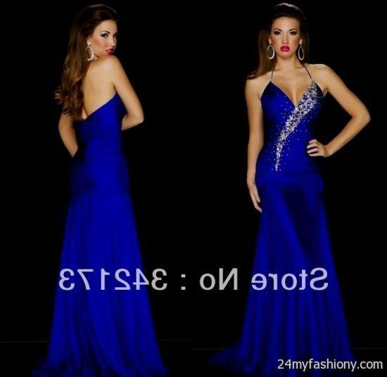 royal blue fitted prom dresses 2016-2017 » B2B Fashion