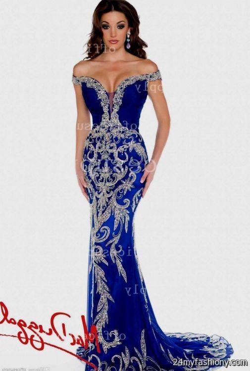 0d6d5c9c royal blue mermaid prom dresses strapless looks | B2B Fashion