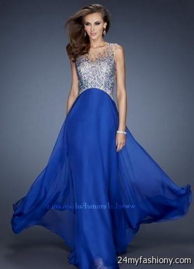 royal blue prom dresses with sleeves 2016-2017 | B2B Fashion