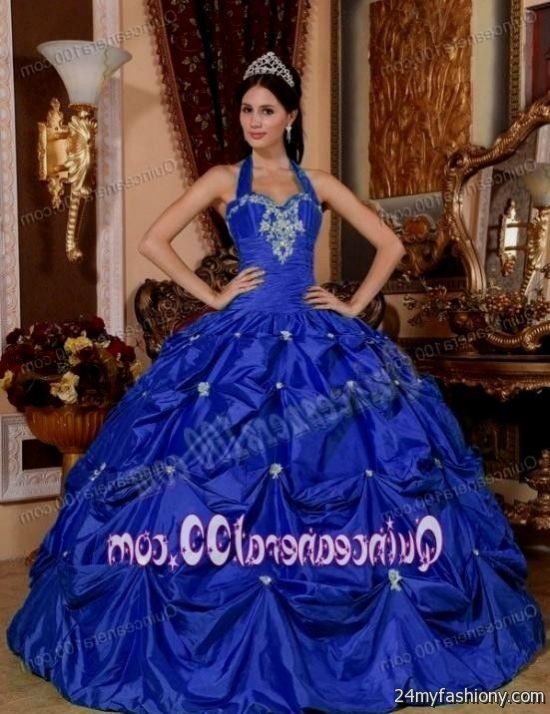royal blue quinceanera dresses with silver 2016-2017 » B2B Fashion