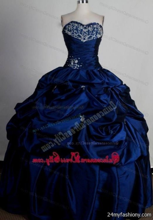 royal blue quinceanera dresses with silver 2016-2017 | B2B ...