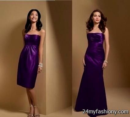 royal purple bridesmaid dresses 2016-2017 | B2B Fashion