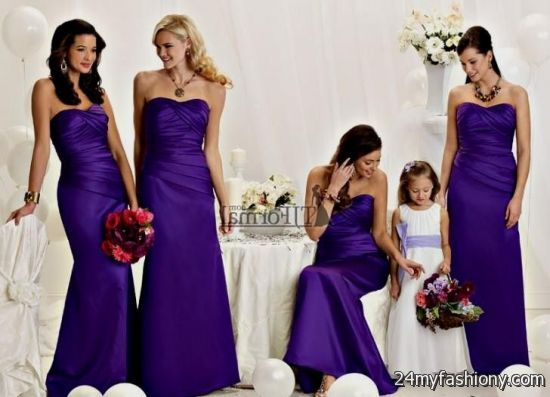 royal purple dresses bridesmaids dresses 2016-2017 | B2B Fashion