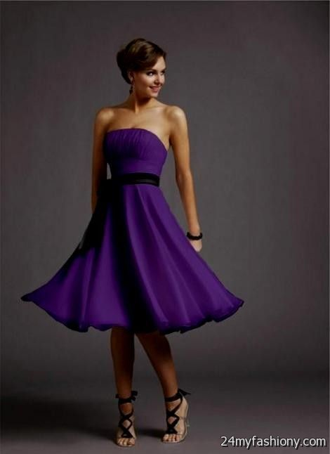 Purple Dresses for Funerals