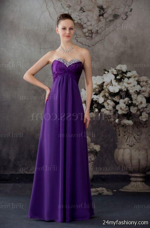 royal purple flower girl dresses 2016-2017 » B2B Fashion