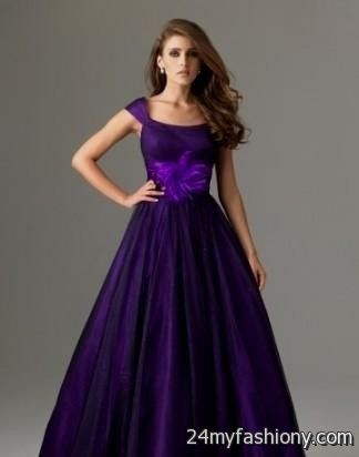 Royal Purple Prom Dresses