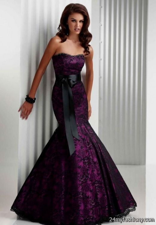 royal purple wedding dress | Wedding