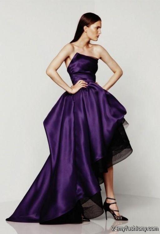Royal Purple Wedding Dress