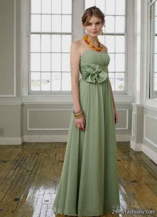 Sage Green Bridesmaid Dresses 2016 2017 B2b Fashion
