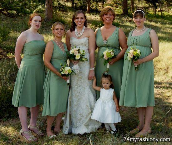 Sage Green Bridesmaid Dresses Looks