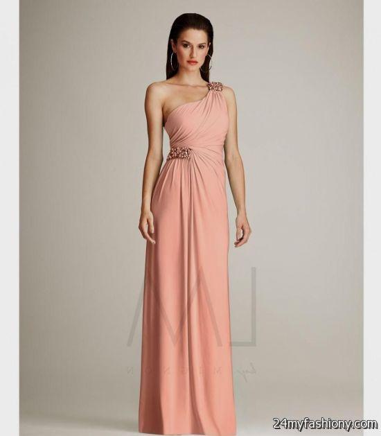 Salmon Homecoming Dresses Looks