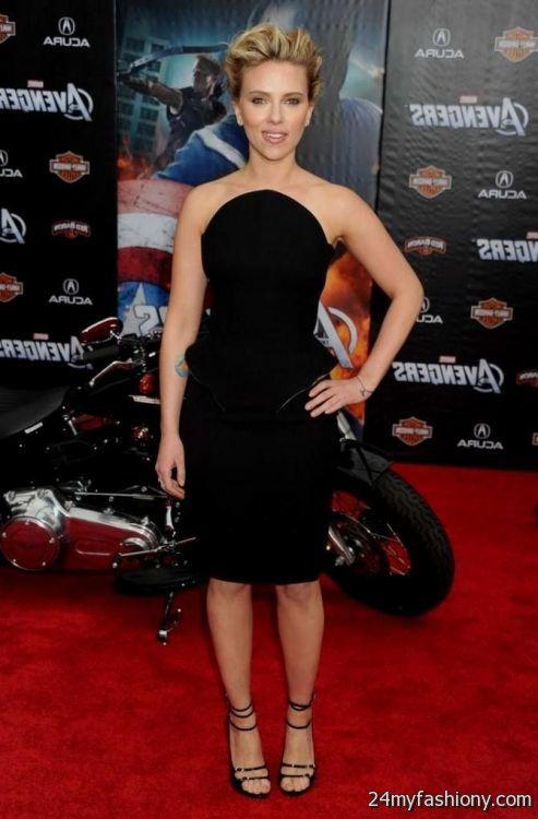 Scarlett johansson sexy prom dresses