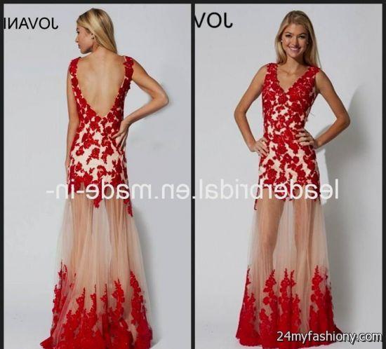 Lace dress designs 2017