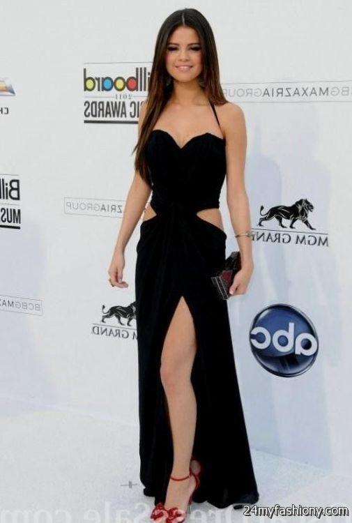 Selena Gomez Black Dresses 2017 2018 B2b Fashion