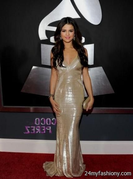 Selena Gomez Dresses Gold 2016 2017 B2b Fashion