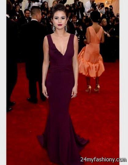 selena gomez purple dress 2016-2017 » B2B Fashion