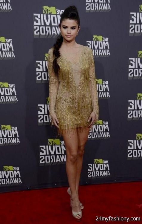 Selena Gomez Red Carpet Dresses 2013 - Info