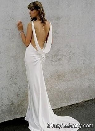 You Can Share These Sexy Backless Beach Wedding Dresses On Facebook Stumble Upon My Space Linked In Google Plus Twitter And All Social Networking
