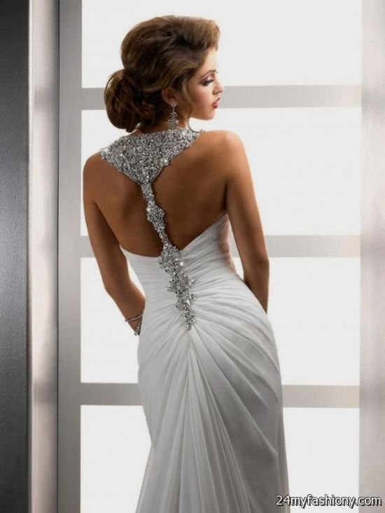 Sexy Backless Beach Wedding Dresses 2016 2017