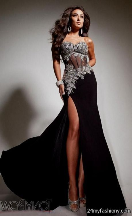 sexy black evening dresses 2016-2017 » B2B Fashion