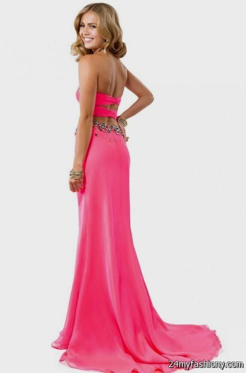 sexy hot pink prom dresses 2016-2017 » B2B Fashion