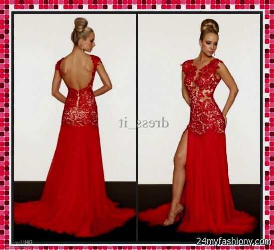 All Red Prom Dress
