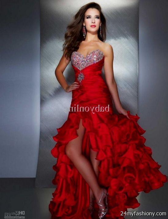 sexy red prom dresses 20162017 b2b fashion