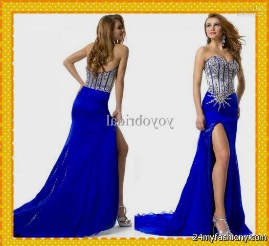 sexy royal blue prom dresses 20162017 b2b fashion