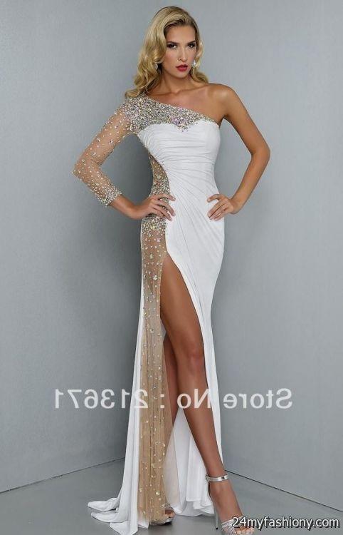 sexy white prom dresses looks | B2B Fashion