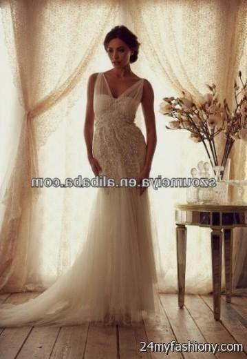 sheer bottom wedding dress 20162017 b2b fashion