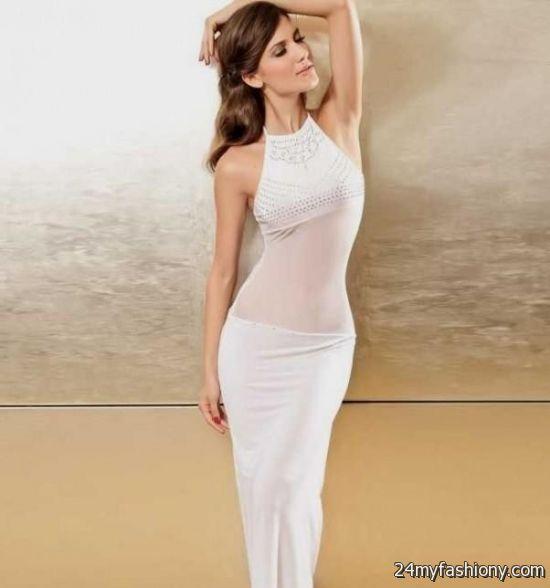 sheer white dress 2016-2017 | B2B Fashion