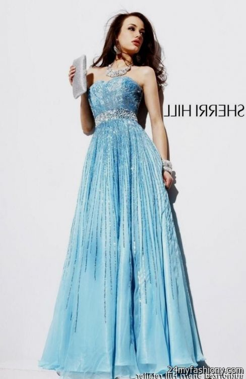 e28429580c5 You can share these sherri hill prom dresses blue on Facebook