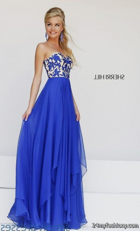 a6f832e1d92 sherri hill prom dresses blue looks